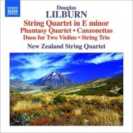 弦楽四重奏曲、幻想曲、弦楽三重奏曲、カンツォネッタ、他 ニュージーランド弦楽四重奏団
