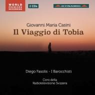 カジーニ(1652-1719)/Vaggio Di Tobia: Fasolis / I Barocchisti Antonaz C.ansermet Fracassini