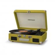 Crosley Cruiser II バッテリー駆動対応ポータブルレコードプレイヤー(グリーン)
