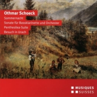 Sommernacht, Penthesilea Suite, Etc: Venzago / Bern So Rothlisberger(Bs-cl)Harnisch(S)