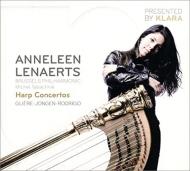 ロドリーゴ:アランフェス協奏曲(ハープ版)、グリエール:ハープ協奏曲、ジョンゲン:ハープ協奏曲 レナエルツ、タバシュニク&ブリュッセル・フィル