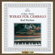 バッハ:イタリア協奏曲、半音階的幻想曲とフーガ、ヘンデル:調子の良い鍛冶屋、他 リヒター