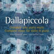 ピアノ独奏曲集、ヴァイオリンとピアノのための作品集 ファンフォーニ(ヴァイオリン)、クレメンティ(ピアノ)