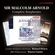 交響曲全集 ヒコックス&ロンドン響、ガンバ&BBCフィル(4CD)