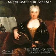 Italian Mandolin Sonatas: Frances Taylor(Mand)Aldwinckle(Cemb)A.strevens(Vc)