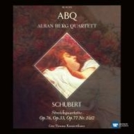 シューベルト(1797-1828)/String Quartet 10 12 14 15 : Alban Berg Q (1994 1997)