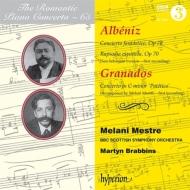 アルベニス:ピアノ協奏曲第1番、スペイン狂詩曲、グラナドス:ピアノ協奏曲『悲愴』 メラーニ・メストレ、ブラビンズ&BBCスコティッシュ響