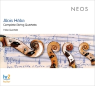 弦楽四重奏曲全集 ハーバ四重奏団(4CD)