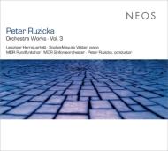 管弦楽作品集第3集 ルジツカ&MDR交響楽団、ゾフィー=マユコ・フェッター