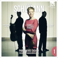 ヴァイオリン協奏曲、ピアノ三重奏曲第3番 I.ファウスト、エラス=カサド&フライブルク・バロック管、ケラス、メルニコフ(+DVD)