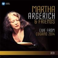 マルタ・アルゲリッチ&フレンズ/ライヴ・フロム・ルガーノ2014(3CD)