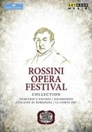 ロッシーニ音楽祭コレクション〜オリー伯爵、デメトリオとポリビオ、シジスモンド、ブルゴーニュのアデライーデ(6DVD)