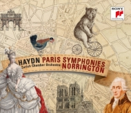 Symphonies Nos.82, 83, 84, 85, 86, 87 : Norrington / Zurich Chamber Orchestra (3CD)