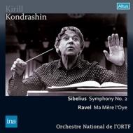シベリウス:交響曲第2番、ラヴェル:マ・メール・ロワ コンドラシン&フランス国立放送管弦楽団(1974 ステレオ)