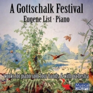 Gottschalk Festival-piano Solo, 4 Hands, With Orch: E.list(P)Abravanel / Utah So Etc
