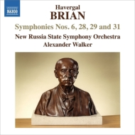 交響曲第6番『悲劇的交響曲』、第28番、第29番、第31番 ウォーカー&新ロシア国立響