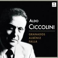 アルベニス:イベリア、グラナドス:ゴイェスカス、ファリャ:火祭りの踊り、他 チッコリーニ(2CD)