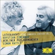 ピアノ協奏曲、交響曲第2番 ツィマーマン、ラトル&ベルリン・フィル