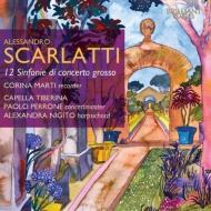 12のシンフォニア コリーナ・マルティ、ニジート、カペラ・ティベリーナ(2CD)