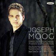 グリーグ:ピアノ協奏曲、モシュコフスキ:ピアノ協奏曲 モーク、ミルトン&ドイツ放送フィル