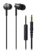 HEADPHONES/オーディオテクニカ Ipod / Iphone / Ipad専用インナーイヤーヘッドホン: Ath-ck330i Bk