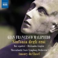 英雄の交響曲、ディテュランボスの悲劇、アルメニア、グロテスク、墓より クロゼル&テッサローニキ州立響