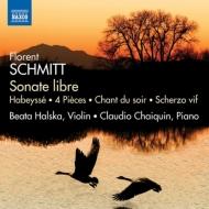 ヴァイオリンとピアノのための作品集 ハルスカ、シャイクァン