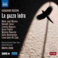 『泥棒かささぎ』全曲 ゼッダ&ヴィルトゥオージ・ブルネンシス、マリア・ホセ・モレーノ、ターヴァー、他(2009 ステレオ)(3CD)