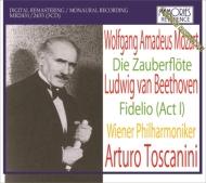 モーツァルト(1756-1791)/Die Zauberflote: Toscanini / Vpo Rosvaenge Novotna A.kipnis (1937) +beethoven: Fid
