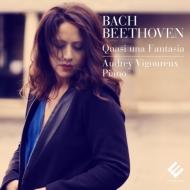 ベートーヴェン:ピアノ・ソナタ第31番、第13番、バッハ:幻想曲とフーガ オドレイ・ヴィグルー