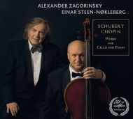 Schubert Arpeggione Sonata, Chopin Cello Sonata, etc : Zagorinsky(Vc)Steen-Nokleberg(P)