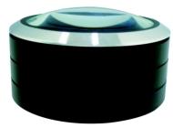 ローチケHMVスリーアールシステム/Led拡大鏡smolia Plus ブラック (文具)