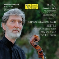 無伴奏チェロ組曲第3番、第4番 ロッコ・フィリッピーニ(2012)