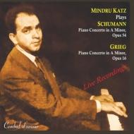 シューマン:ピアノ協奏曲、グリーグ:ピアノ協奏曲 カッツ、ロダン、コミッショーナ、イスラエル放送管