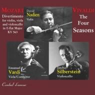 ヴィヴァルディ:『四季』、モーツァルト:ディヴェルティメント ネイディアン、カップ・シンフォニエッタ、ヴァルディ、他