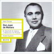 Don Juan De Manara: Cluytens / Bavarian State Opera Aldenhoff Gabory Metternich