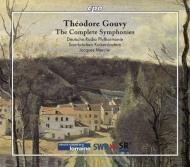 交響曲全集 メルシエ&ドイツ放送フィル(4CD)