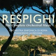 管弦楽作品全集 ラ・ヴェッキア&ローマ交響楽団(8CD)