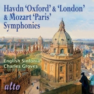 Haydn Symphonies Nos.92, 104, Mozart Symphony No.31 : Groves / English Sinfonia