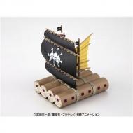 ワンピース 偉大なる船コレクション マーシャル・D・ティーチの海賊船 プラスチックキット