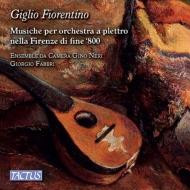 『フィレンツェのユリ〜19世紀後期フィレンツェのマンドリン・オーケストラのための音楽』 アンサンブル・ダ・カメラ・ジーノ・ネーリ