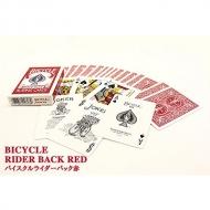 バイスクルポーカーサイズ赤
