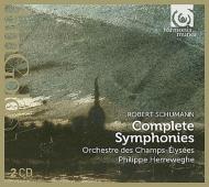 交響曲全集 ヘレヴェッヘ&シャンゼリゼ管弦楽団(2CD)