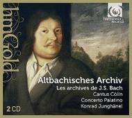 『アルトバッキッシェス・アルヒーフ〜バッハの祖先の音楽』 ユングヘーネル&カントゥス・ケルン、コンチェルト・パラティーノ(2CD)