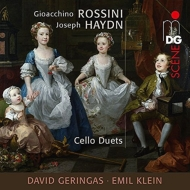 ハイドン:デュエット集、ロッシーニ:チェロのためのデュエット ゲリンガス、クライン