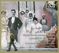 『エスタンシア』より4つの踊り、ハープ協奏曲、南米のファウスト序曲、協奏的変奏曲 J.ポンス&グラナダ市管、バッレーラ