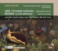ラクス:『予期せぬ燕』、ラートハウス:『恋するライオン』、他 ボロヴィツ&ポーランド放送響
