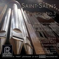 Symphony No.3, etc : Michael Stern / Kansas City Symphony Orchestra, Kraybill(Org)N.Geller(Vn)M.Gibbs(Vc)(Hybrid)