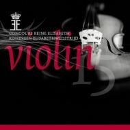 2015年エリザベート王妃国際コンクール・ヴァイオリン部門ライヴ集~イム・ジヨン、毛利文香、他(4CD)