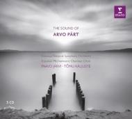『サウンド・オブ・アルヴォ・ペルト』 パーヴォ・ヤルヴィ&エストニア国立響、カリユステ&エストニア・フィル室内合唱団、モルク、T.リトル、他(3CD)